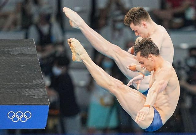 Tom Daley and Matty Lee were medal hopes in the synchronised 10m platform