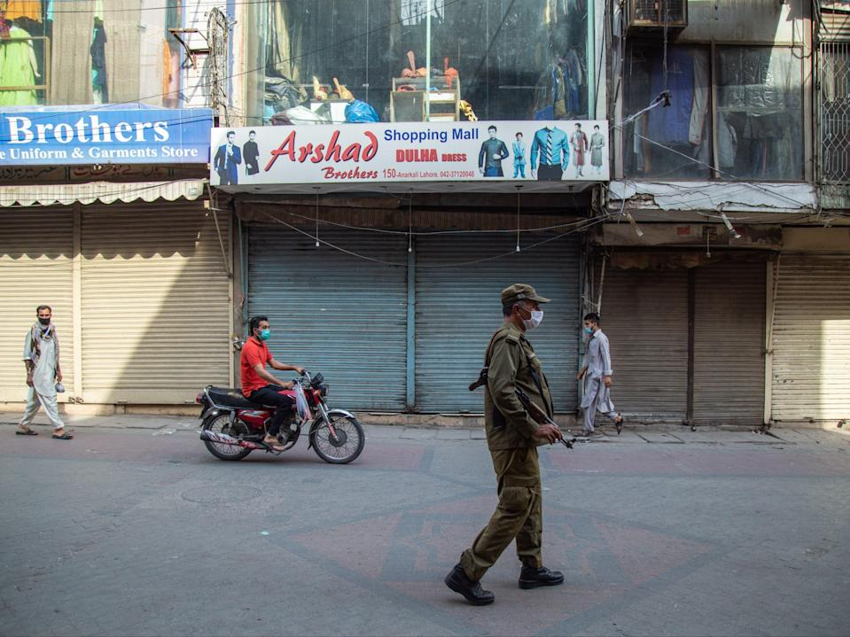 The woman was shot dead in a flat in Lahore in Pakistan (Getty Images)