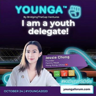 Jessie Chung will represent Hong Kong, China as part of the inaugural Youth Delegation, participating in dialogues on creating an inclusive, sustainable future