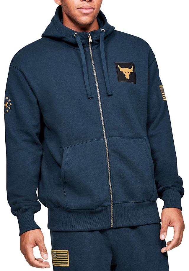 Under Armour Men's Project Rock Veterans Day Hoodie