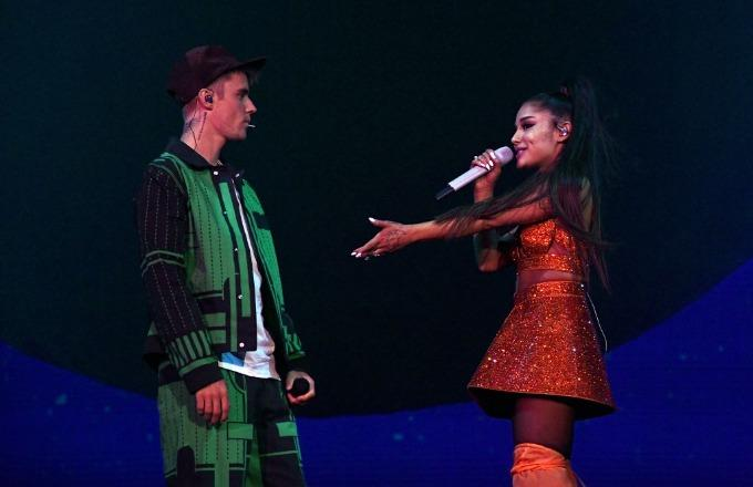 Justin Bieber Makes Surprise Appearance During Ariana Grande's Coachella Set: 'Album Coming Soon'