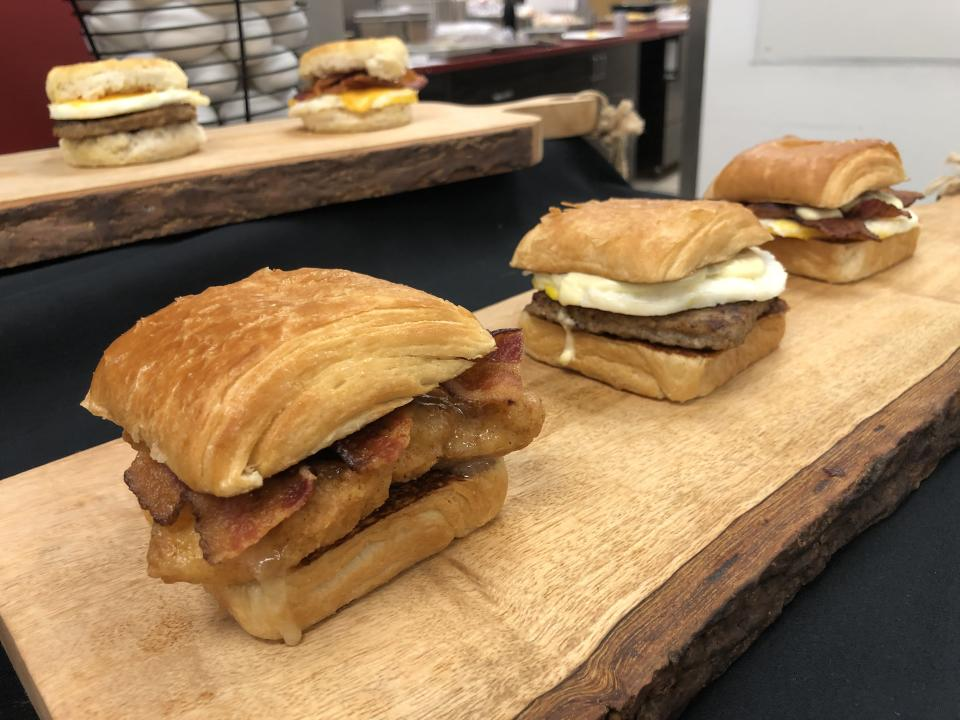 Bring on the breakfast sandwiches at Wendy's.