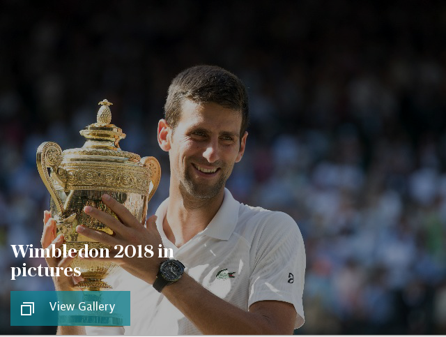 Wimbledon 2018 in pictures