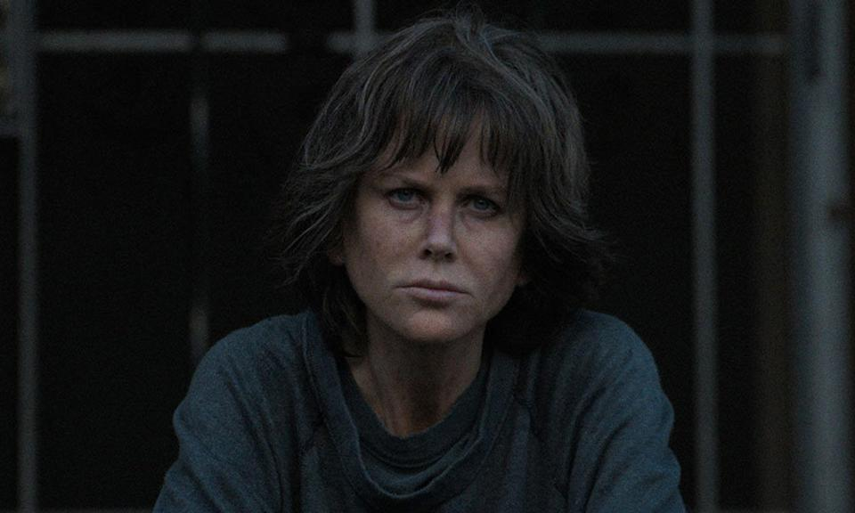 <p>Nicole Kidman is astonishing, and almost unrecognisable, in Karyn Kusama's (<i>The Invitation</i>, LFF 2015) brooding thriller <i>Destroyer</i>. Kidman plays Erin, a jaded police detective haunted by her past and still reeling from the trauma of her experience years later, who is forced to confront her demons in order to close the case that almost destroyed her. The film also stars Sebastian Stan, Tatiana Maslany and Toby Kebbell. </p>