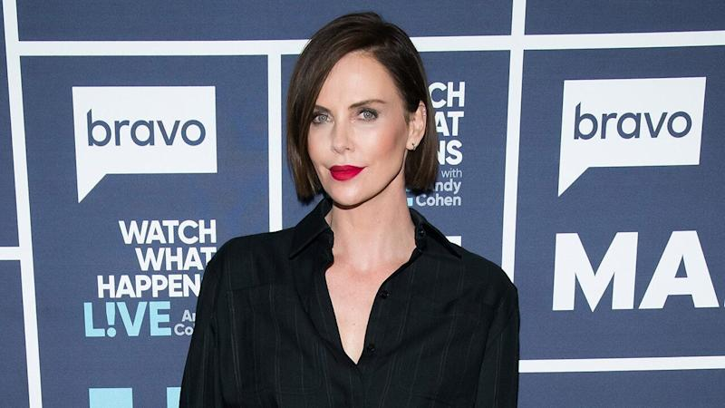 Charlize Theron Sports the Sexiest Bowl Cut We've Ever Seen