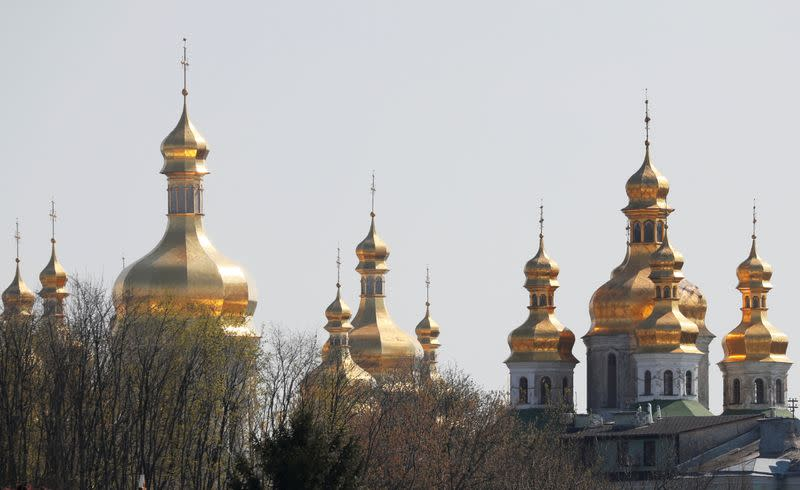 FILE PHOTO: A view shows the Kiev Pechersk Lavra monastery in Kiev
