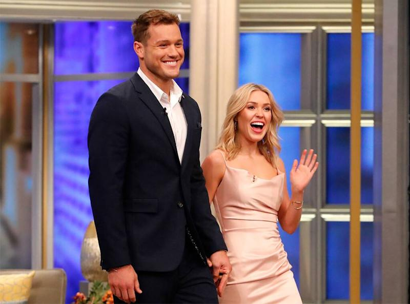 Colton Underwood, Cassie Randolph, The Bachelor, The View