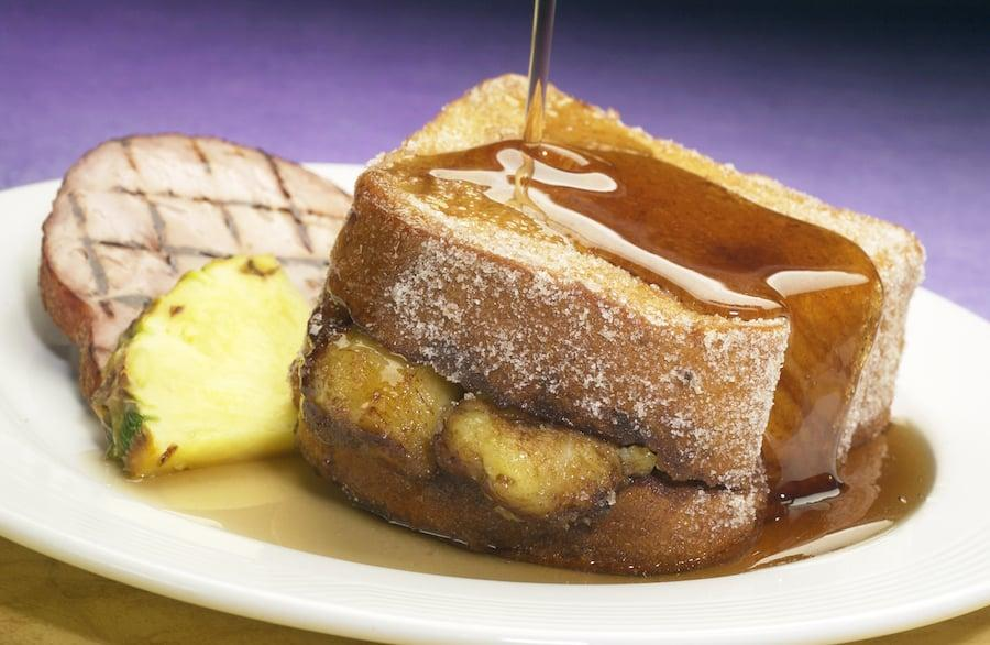 """<p>Tonga Toast is one of Disney's most iconic breakfasts, and can typically be found at Disney's Polynesian Village Resort. The combination of sweet cinnamon sugar, bananas, and crispy fried bread is one we can't ever pass up.</p> <p><strong>Get the recipe:</strong> <a href=""""http://disneyparks.disney.go.com/blog/2020/05/disneymagicmoments-tonga-toast-at-disneys-polynesian-village-resort-the-ultimate-mothers-day-breakfast-treat/"""" target=""""_blank"""" class=""""ga-track"""" data-ga-category=""""Related"""" data-ga-label=""""http://disneyparks.disney.go.com/blog/2020/05/disneymagicmoments-tonga-toast-at-disneys-polynesian-village-resort-the-ultimate-mothers-day-breakfast-treat/"""" data-ga-action=""""In-Line Links"""">Disney's Tonga Toast</a></p>"""