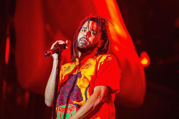 """J. Cole's latest song """"MIDDLE CHILD"""" has climbed to the No. 4 spot on the Billboard Hot 100."""