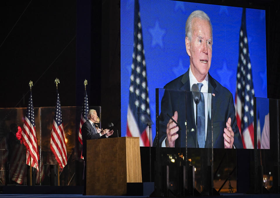 Michigan and Wisconsin are looking more favourable for Biden. Photo: Getty Images