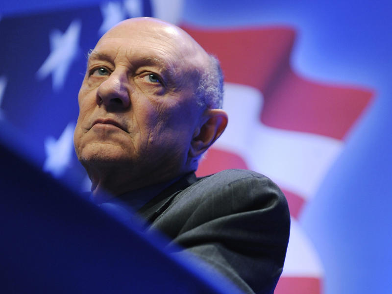 James Woolsey, former director of the US Central Intelligence Agency: REUTERS