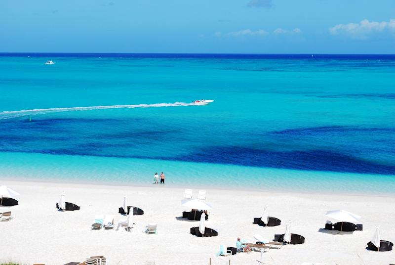 """<a href=""""https://www.tripadvisor.com/Attraction_Review-g147399-d148331-Reviews-Grace_Bay-Providenciales_Turks_and_Caicos.html"""" target=""""_blank"""">Grace Bay</a>is famous for its long stretch of soft white sand and beautiful blue water, which is probably why it's a long-time winner year after year.<br /><br /><strong>Nearby beachfront hotel:</strong><a href=""""https://www.tripadvisor.com/Hotel_Review-g147399-d151225-Reviews-Ports_of_Call_Resort-Providenciales_Turks_and_Caicos.html"""" target=""""_blank"""">Ports of Call Resort</a>,<strong></strong>from $270 per night."""