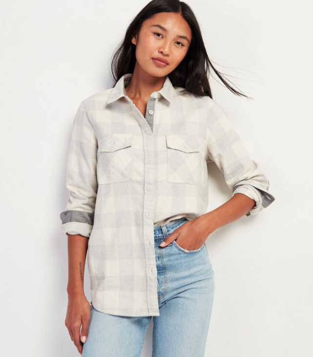 Roots Park Plaid Shirt. Image via Roots.