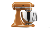 """<p><strong>KitchenAid</strong></p><p>kitchenaid.com</p><p><strong>$429.99</strong></p><p><a href=""""https://go.redirectingat.com?id=74968X1596630&url=https%3A%2F%2Fwww.kitchenaid.com%2Fcountertop-appliances%2Fcolor-of-the-year%2Fstand-mixers%2Fp.artisan-series-5-quart-tilt-head-stand-mixer-in-honey.ksm175pshy.html&sref=https%3A%2F%2Fwww.harpersbazaar.com%2Fwedding%2Fplanning%2Fg7719%2Funique-wedding-gift-ideas%2F"""" rel=""""nofollow noopener"""" target=""""_blank"""" data-ylk=""""slk:SHOP NOW"""" class=""""link rapid-noclick-resp"""">SHOP NOW</a></p><p>While a kitchen appliance seems the obvious choice for a wedding gift, the colors that KitchenAid now offers make this appliance a welcome and (slightly) unexpected choice. Choose a color that best suits the couple's personality for a classic gift that still thinks outside the box. Expert tip: Add a recipe book or two if you really want to go all out.</p>"""