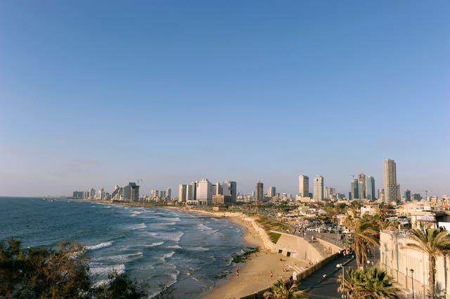 A general view of Tel Aviv (Adam Davy/PA)