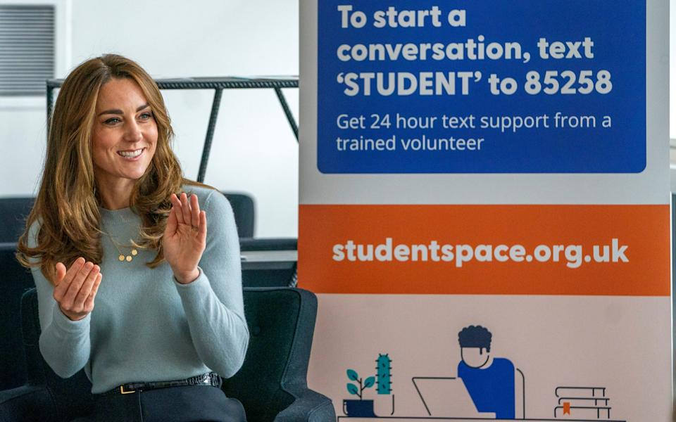 The Duchess of Cambridge visits the University of Derby - Pool