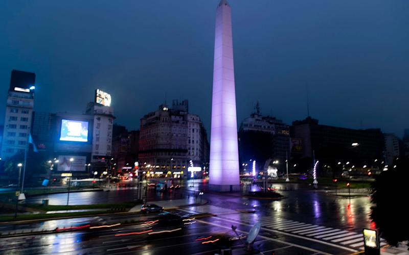 Lights coming back on in Buenos Aires - AP