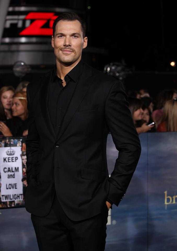 "Daniel Cudmore arrives at ""The Twilight Saga: Breaking Dawn - Part 2"" Los Angeles premiere at the Nokia Theatre L.A. Live on November 12, 2012 in Los Angeles, California."