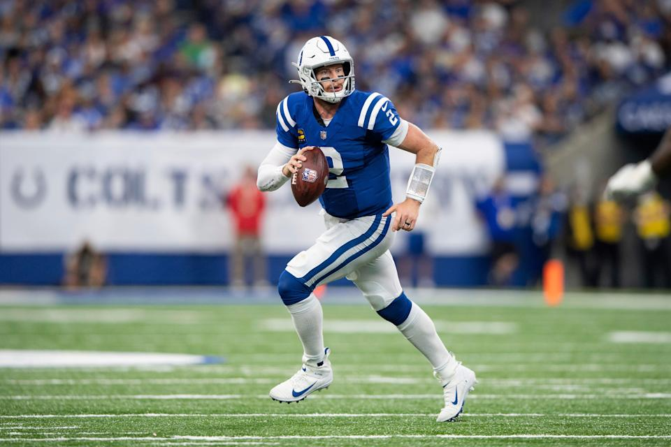 After spraining both ankles in a Week 2 game against the Rams, Colts quarterback Carson Wentz could play in Sunday's game against the Tennessee Titans.