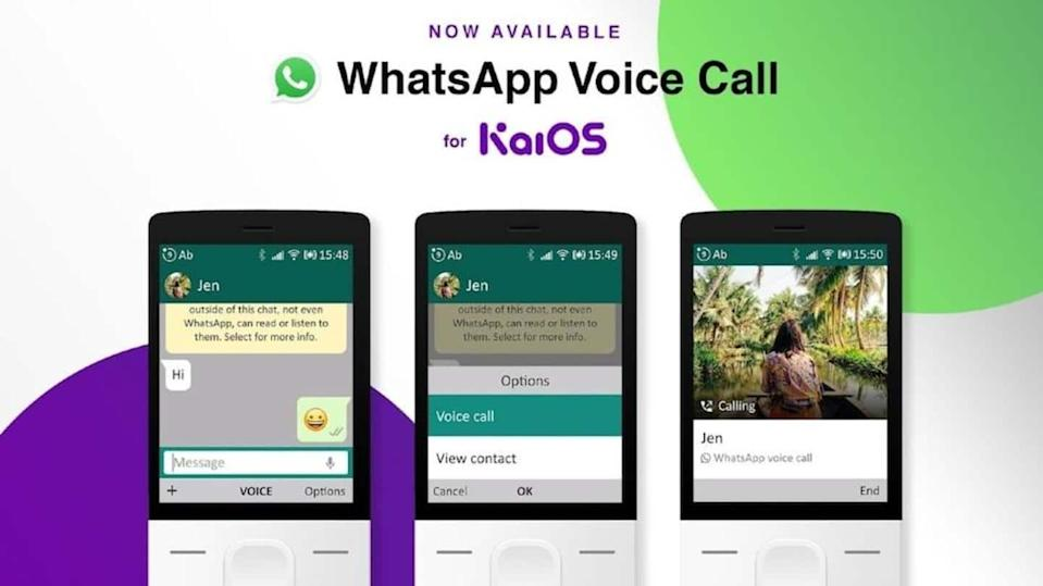 WhatsApp voice calling comes to JioPhone, other KaiOS-based feature phones