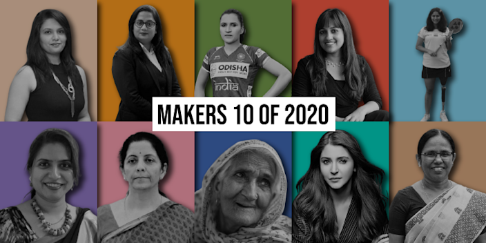 MAKERS 10 of 2020: Women Who Make India