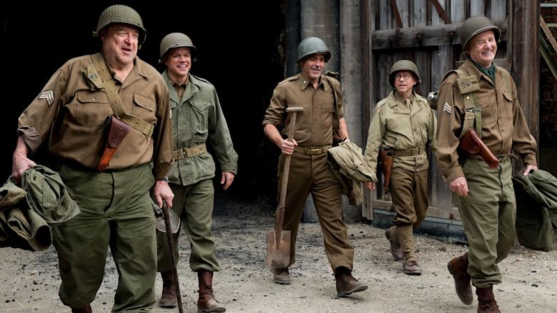 George Clooney and Cast in 'The Monuments Men'
