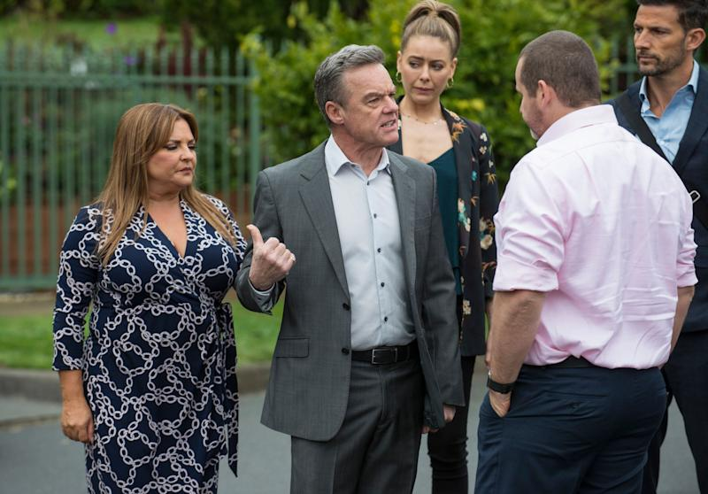 TV show 'Neighbours' will continue filming as metropolitan Melbourne goes into a six-week lockdown later this week (Photo: Channel 10 )