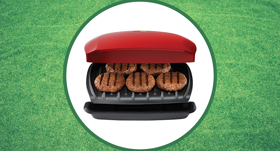 Save 15% on this classic George Foreman Grill.