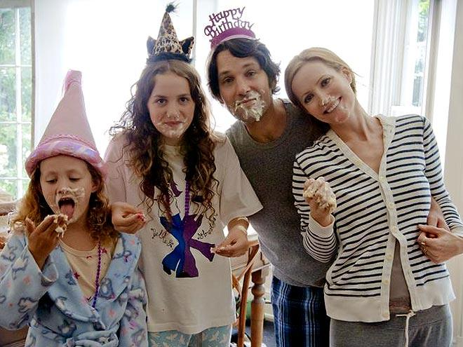 "Maude and Iris Apatow – Despite being rated R for crude language and nudity, Judd Apatow's new flick ""This is 40"" is a true family affair. The mid-life crisis comedy stars Apatow's real-life wife Leslie Mann and two daughters Maude and Iris Apatow... oh, and Paul Rudd, too (who might as well be a member of the family, having starred in so many Apatow productions). Maude and Iris also appeared in Apatow's 2007 comedy ""Knocked Up,"" which ""This is 40"" is a ""sort of sequel"" to. It would appear that ""funny"" is in the young Apatow girls' blood, as the sisters manage to hold their own against some serious comedy heavyweights in the film. But as the next person on our list demonstrates, putting your kids in the movies can sometimes backfire terribly."