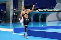 The American teenager who was adopted from Vietnam as a baby is competing in her first Paralympics (AFP/Behrouz MEHRI)