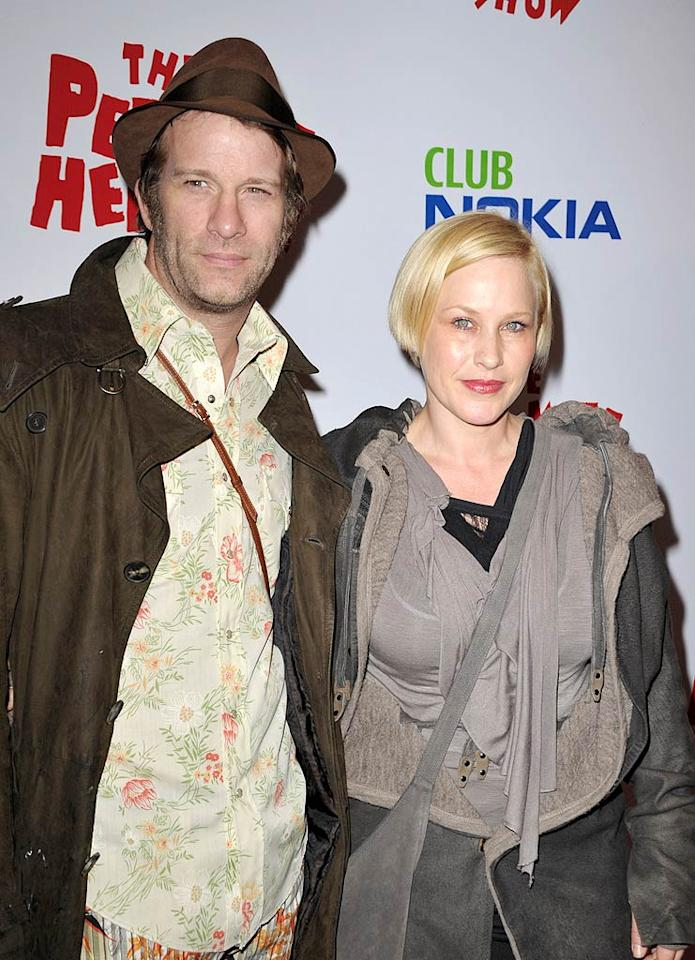"""Once again, Patricia Arquette and her """"Hung"""" hubby Thomas Jane looked like hot messes on the red carpet! John Shearer/<a href=""""http://www.wireimage.com"""" target=""""new"""">WireImage.com</a> - January 20, 2010"""