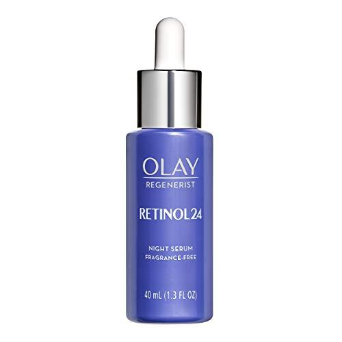 "<p><strong>Olay</strong></p><p>amazon.com</p><p><strong>$46.99</strong></p><p><a href=""https://www.amazon.com/dp/B07XR2Y7RT?tag=syn-yahoo-20&ascsubtag=%5Bartid%7C10072.g.29582592%5Bsrc%7Cyahoo-us"" target=""_blank"">SHOP NOW</a></p><p>This gentle night serum contains a powerful <a href=""https://www.oprahmag.com/beauty/skin-makeup/a29488733/retinol-benefits/"" target=""_blank"">anti-aging blend of retinol</a> and niacinamide, says <a href=""https://www.unionderm.com/about/dr-claire-chang/"" target=""_blank"">Dr. Claire Chang</a> of Union Square Laser Dermatology in New York. ""Retinol helps increase skin cell turnover, improve brown spots, and stimulate collagen for fine line prevention, while niacinamide is a strong antioxidant that soothes the skin and protects against environmental damage.""</p>"