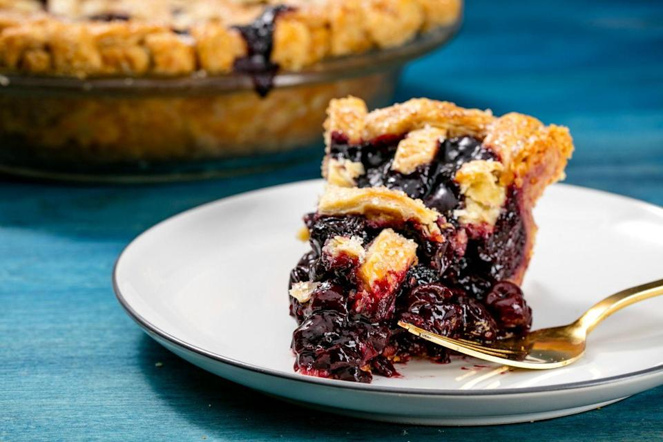 """<p>Bring a boozy punch to classic cherry.</p><p>Get the recipe from <a href=""""https://www.delish.com/cooking/recipe-ideas/recipes/a50142/cherry-old-fashioned-pie-recipe/"""" rel=""""nofollow noopener"""" target=""""_blank"""" data-ylk=""""slk:Delish"""" class=""""link rapid-noclick-resp"""">Delish</a>.</p>"""