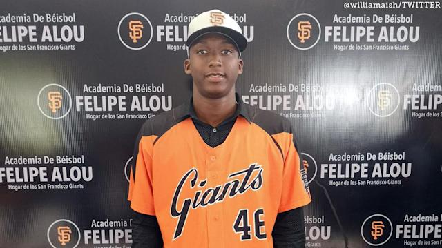 <p>After two years of being limited in how much they could spend on international prospects, the Giants spent $2.6 million on an outfielder Monday morning.</p>