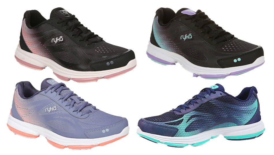 Ryka Lace-up Walking Sneakers are the cutest all-day walking shoes we've seen in a while. (Photo: QVC)