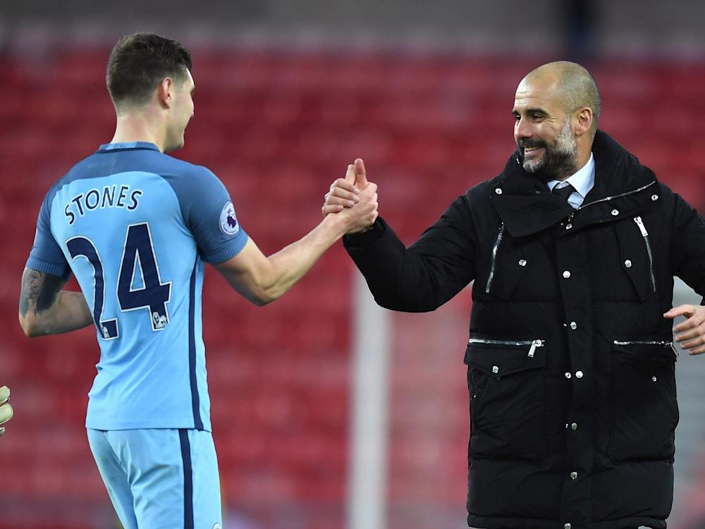Stones was one of City's best players in the 1-1 draw: Getty
