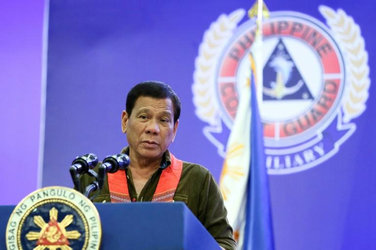 Philippine President Rodrigo Duterte said China's leaders threatened to go to war when he told them Manila planned to drill for oil in the disputed South China Sea