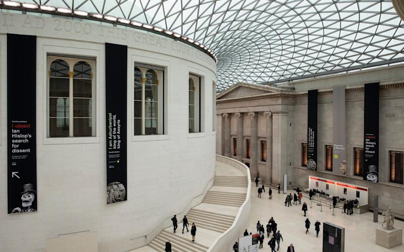 A general view of the Great Court at the British Museum  - Dan Kitwood/Getty