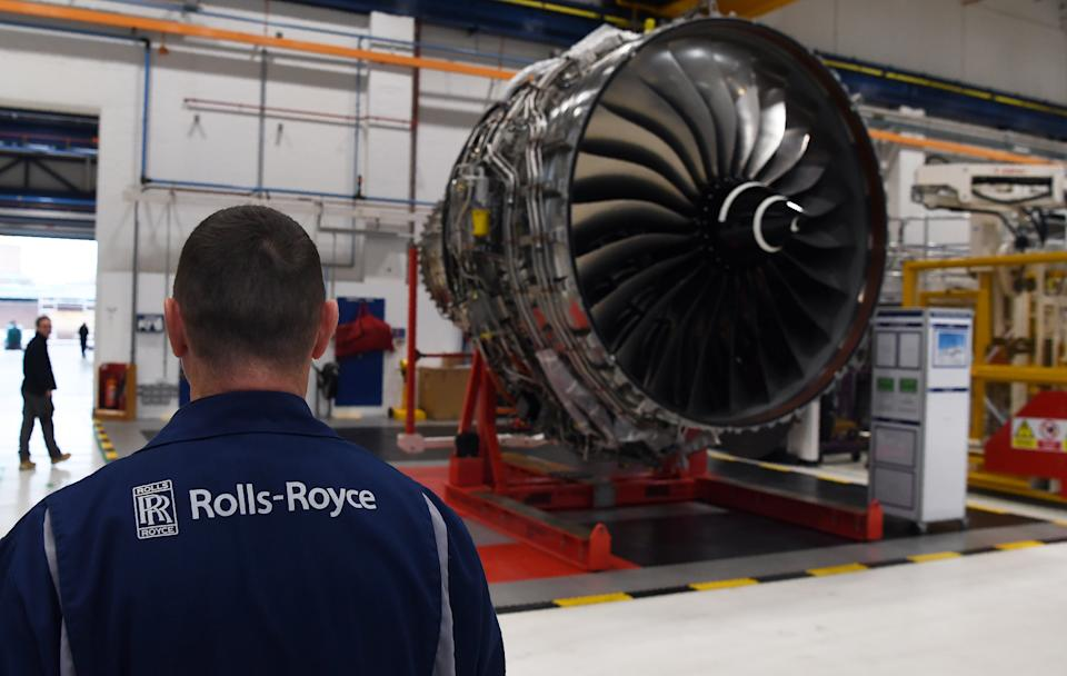 Rolls-Royce has axed thousands of jobs. Photo: Paul Ellis/Reuters