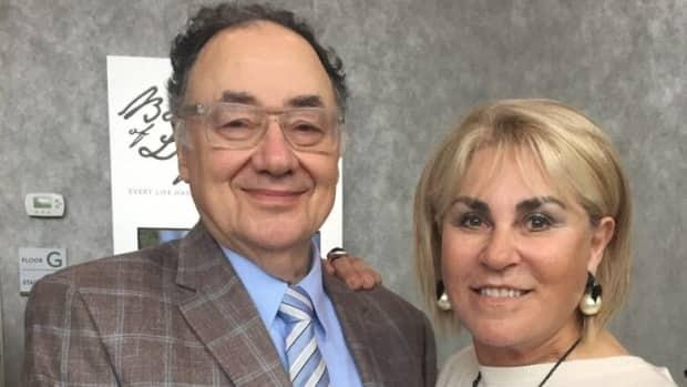Billionaires Barry and Honey Sherman were murdered inside their Toronto mansion in December of 2017. (United Jewish Appeal/The Canadian Press - image credit)