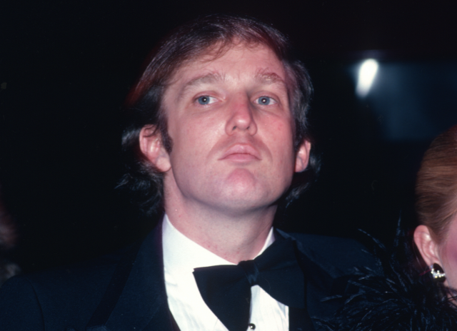 Donald Trump, February 1980 in New York City. (Photo by Sonia Moskowitz/Getty Images)