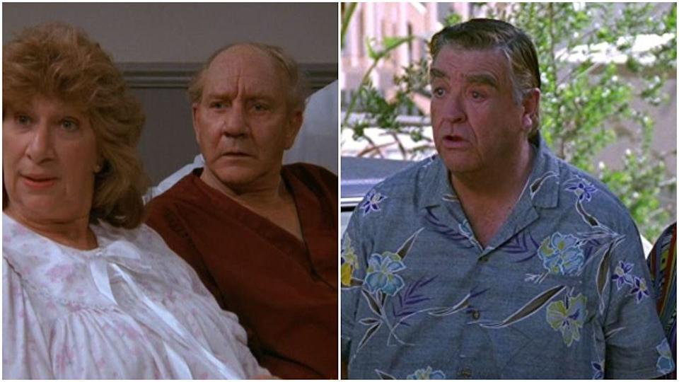 <p>Jerry's dad, Morty, is one of the best parts of <em>Seinfeld,</em> thanks to Barney Martin's truly iconic performance. But Morty was briefly played by Phil Bruns back in season 1, who was replaced because Jerry Seinfeld and Larry David wanted the character to be crankier. On brand.</p>