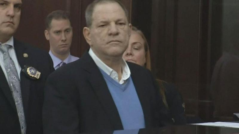 The Fall of Harvey Weinstein, From Red Carpets to an NYPD Perp Walk