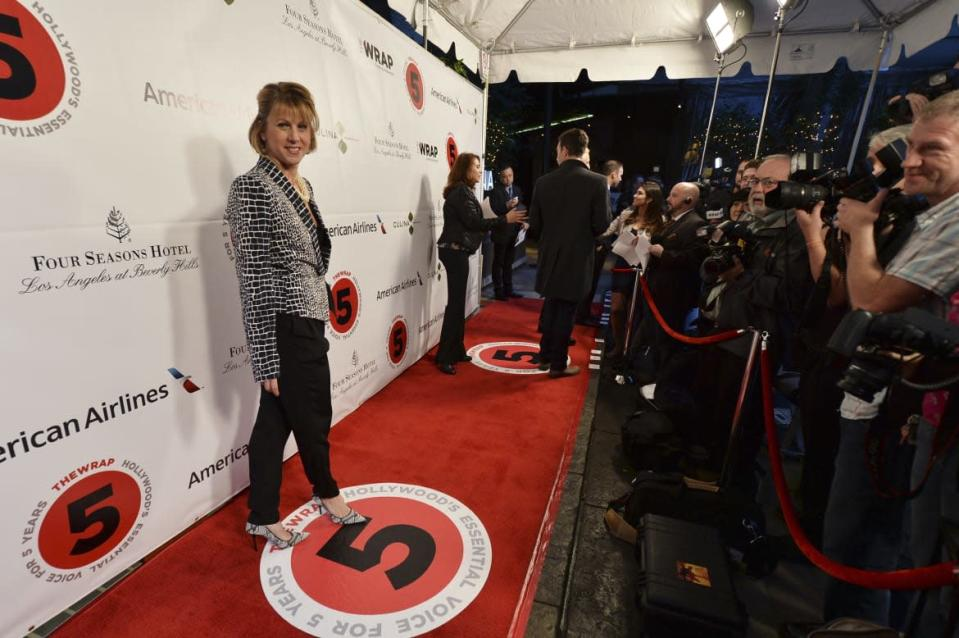 """<div class=""""inline-image__caption""""><p>""""BEVERLY HILLS, CA - FEBRUARY 26: TheWrap's CEO & Editor-in-Chief Sharon Waxman attends TheWrap's 5th Annual Oscar Party at Culina Restaurant at the Four Seasons Los Angeles on February 26, 2014 in Beverly Hills, California. (Photo by Kevin Winter/Getty Images For TheWrap)""""</p></div> <div class=""""inline-image__credit"""">Kevin Winter/Getty Images For TheWrap</div>"""
