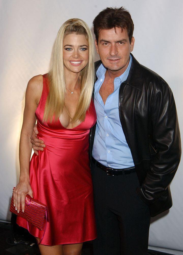 Denise Richards and ex-husband Charlie Sheen | Gregg DeGuire/WireImage