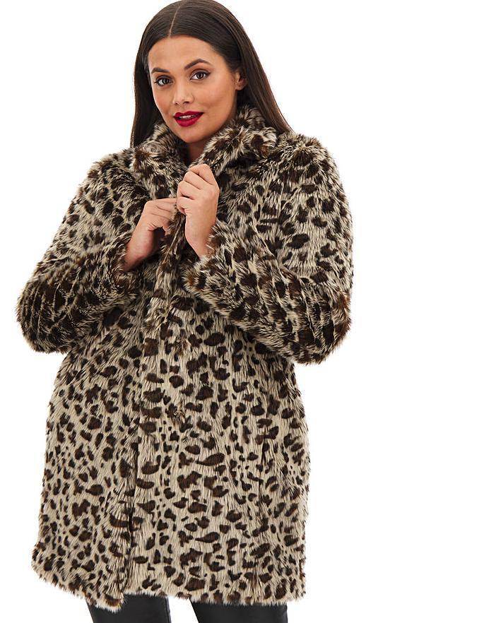 """<br><br><strong>Simply Be</strong> Leopard Print Faux Fur Coat, $, available at <a href=""""https://www.simplybe.co.uk/shop/leopard-print-faux-fur-coat/dy160/product/details/show.action?pdBoUid=2083"""" rel=""""nofollow noopener"""" target=""""_blank"""" data-ylk=""""slk:Simply Be"""" class=""""link rapid-noclick-resp"""">Simply Be</a>"""