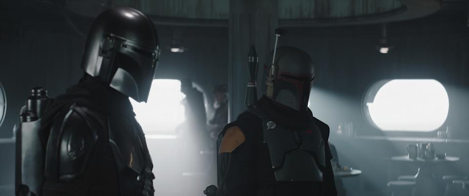 The Mandalorian and his allies attempt a daring rescue. (Disney+)