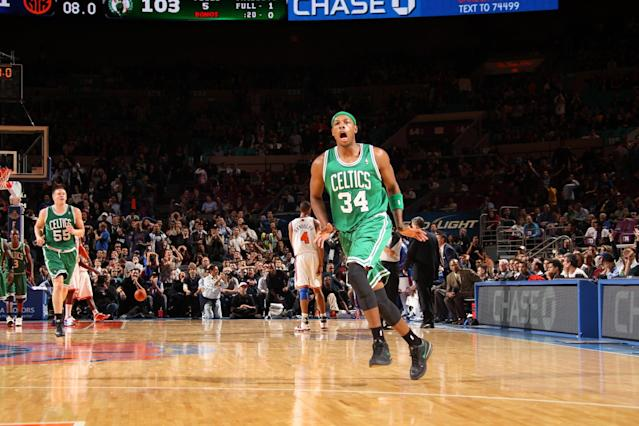 Paul Pierce, ever a showman, will take one last lap around the NBA. (Nathaniel S. Butler/NBAE/Getty Images)