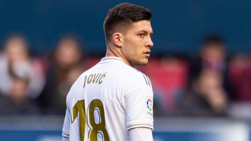 Zidane refuses to rule out departure of Real Madrid flop Jovic as Man Utd reportedly circle