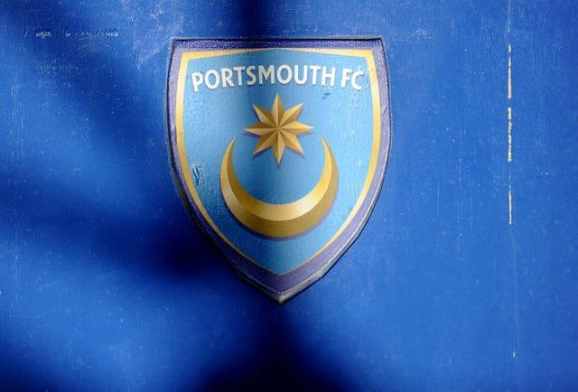 A Portsmouth badge